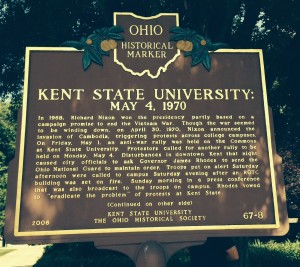 Kent State Historical Marker, May 4 1970