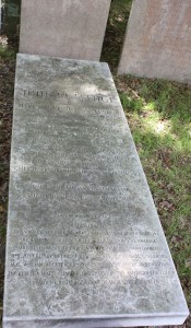 John Rutledge headstone 2