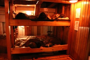 Jeanie Johnston Sleeping Quarters