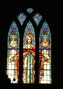OSNP Jesus Stained Glass