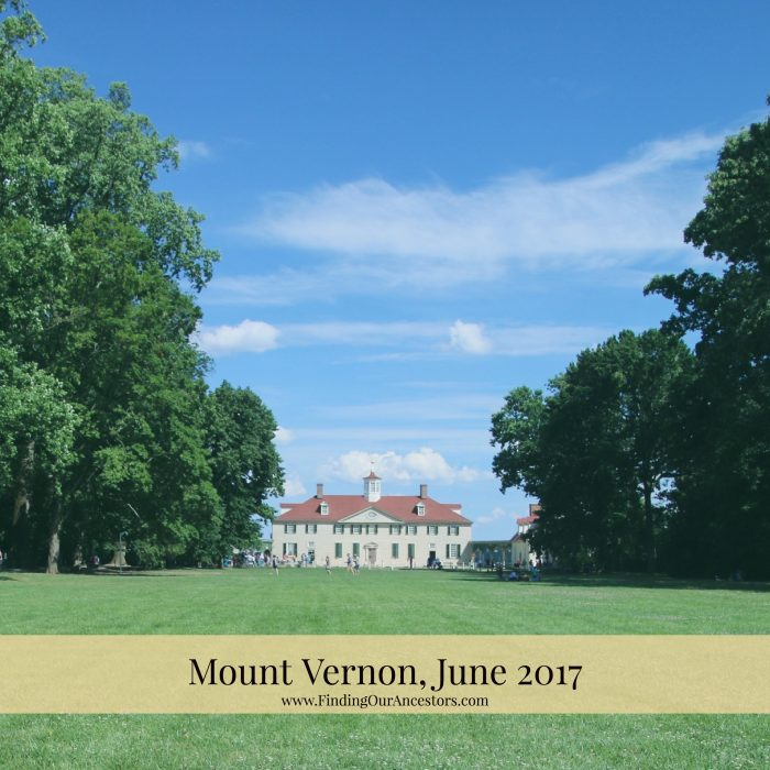 Mount Vernon, Home of the Washingtons
